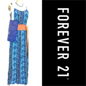 Forever 21 long cotton maxi dress, M
